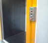 1000 - 2000kg Goods Lift outside view