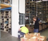 mezanine 500 kg goods hoist in a distribution facility